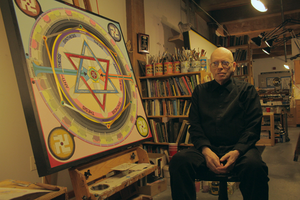 Poetry Thursday – The Visionary Paintings Of Paul Laffoley